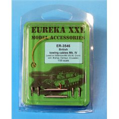 Eureka XXL 1:35 Towing cables Mark IV for British vehicles