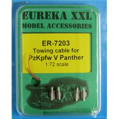 Eureka XXL 1:72 Towing cables for Pz.Kpfw.V Panther Ausf.G