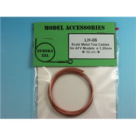 1.35mm Metal wire rope for AFV Kits