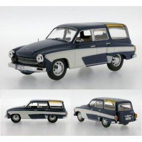 IXO IST 1:43 Wartburg 311 camping 4-doors 1960