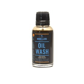 Modellers World OIL WASH - czarno brązowy - 30ml