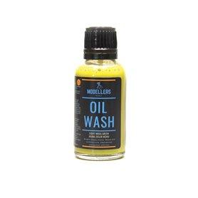 Modellers World OIL WASH - light moss green - 30ml