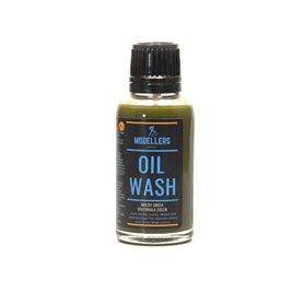 Modelarski Świat OIL WASH - spleśniała zieleń - 30ml