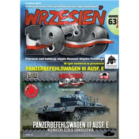 First To Fight 1:72 Panzerbefehlswagen III Ausf.E - numer 63