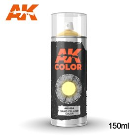AK Interactive Sand Yellow - Spray 150ml
