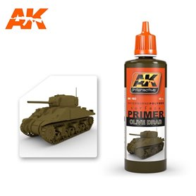 AK Interactive Olive Drab Primer 60ml