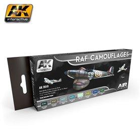AK Interactive RAF Camo Color Set
