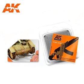 AK Interactive RUSTY TOW CHAIN MEDIUM