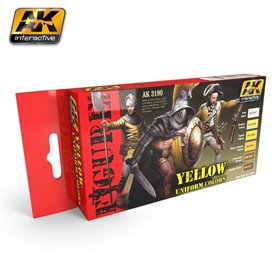 AK Interactive Yellow Uniform Colors Set