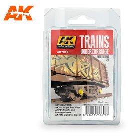 AK Interactive Trains Weathering Set vol. 2
