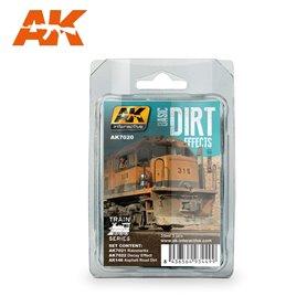 AK Interactive Basic Dirt Effects Set