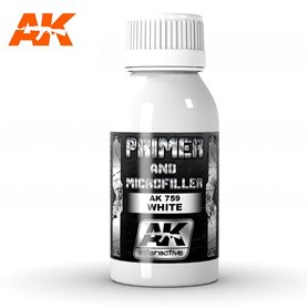 AK Interactive White Primer and Microfiller