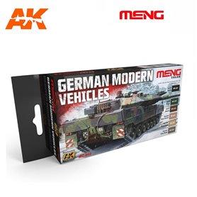 MENG German Modern Vehicles Color Set
