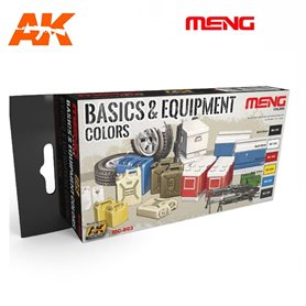 MENG Basic &Equipment Color Set