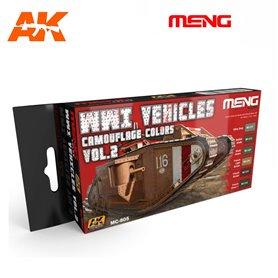 MENG WWI Vehicles Vol. 2 Color Set
