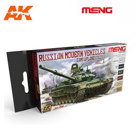 MENG Russian Modern Vehicles Camouflage Set