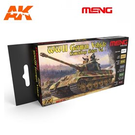 MENG WWII German Wehicle Camouflage Color Set
