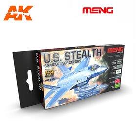 MENG US Stealth Camouflage Color Set