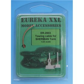 Eureka XXL 1:35 Towing cables for M4 Sherman