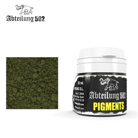 Abteilung 502 Faded Moss Green Pigment