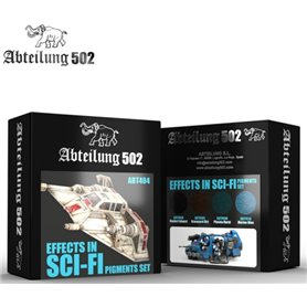 Abteilung 502 Effects in Sci-Fi Pigments Set