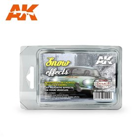 AK Interactive Snow Effects Rally Set