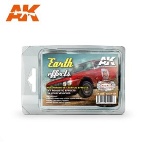 AK Interactive Earth Effects Rally Set