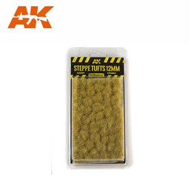 AK Interactive Steppe Tufts 12mm