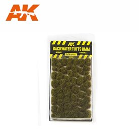 AK Interactive Backwater Tufts 12mm