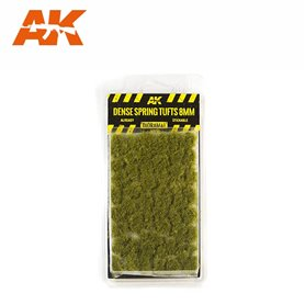 AK Interactive Dense Spring Tufts 8mm