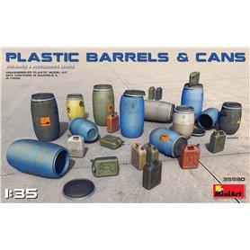 Mini Art 1:35 PLASTIC BARELLS AND CANS