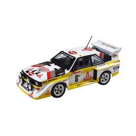 Beemax 24017 1/24 Aodi Quatro S1 Rally MC 1985