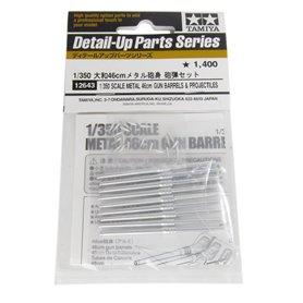 Tamiya 12643 1/350 Metal 46cm Barrel&Shell