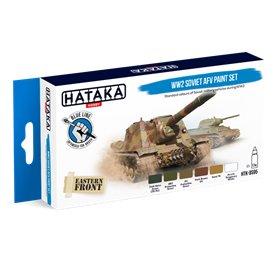 Hataka BS095 BLUE-LINE Zestaw farb WW2 SOVIET AFV