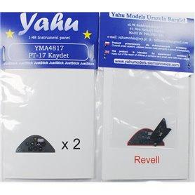 Yahu Models 1:48 Tablica przyrządów do Stearman PT-17 dla Revell
