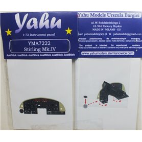 Yahu Models 1:72 Stirling Mk.IV dla Italeri