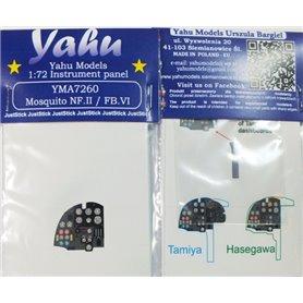 Yahu Models 1:72 Mosquito NF.II / FB VI dla Tamiya / Hasegawa-Revell
