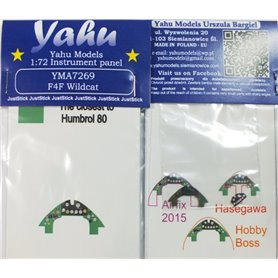 Yahu Models 1:72 F4F Wildcat dla Airfix / Hasegawa / HobbyBoss