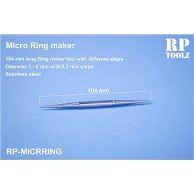 RP TOOLZ Zginarka do kształtowania okrągłych blaszek - MICRO RING MAKER TOOL