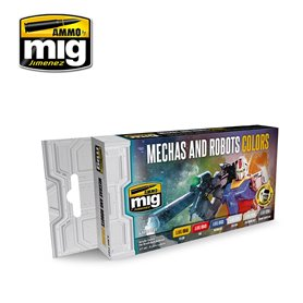 Ammo of MIG Mechs and Robots Colors