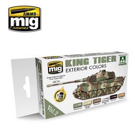 Ammo of MIG King Tiger Exterior Color Set (Takom)