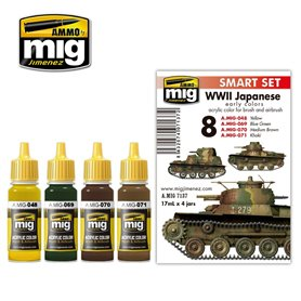 Ammo of MIG Japan AFV WWII COLORS