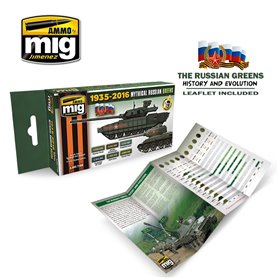 Ammo of MIG Mythical Russian Green Colors 1935-2016