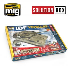 Ammo of MIG Zestaw IDF VEHICLES - SOLUTION BOX