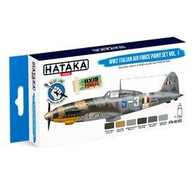 Hataka BS103 WW2 Italian Air Force Paint set vol.1