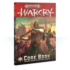Warhammer AGE OF SIGMAR - WARCRY CORE BOOK - wersja angielska