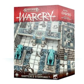 Warhammer AGE OF SIGMAR - WARCRY - SHATTERED STORMVAULT