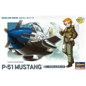 Hasegawa TH7-60117 Egg Plane P-51 Mustang