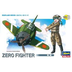 Hasegawa TH8-60118 Egg Plane Zero Fighter