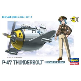 Hasegawa TH10-60120 Egg Plane P-47 Thunderbolt